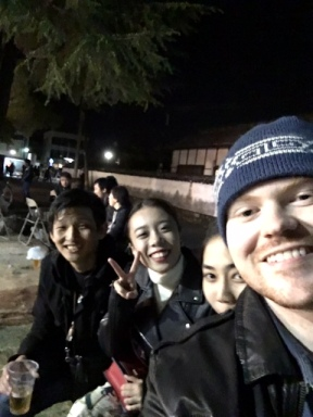 me, yuki, Take, and Hiroki
